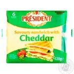 President Cheddar Cheese Processed 40%