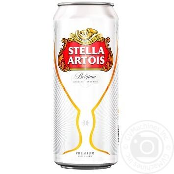 Stella Artois Blonde Beer Can 5% 0,5l