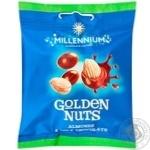 Драже Millennium Golden Nuts миндаль в молочном шоколаде 50г