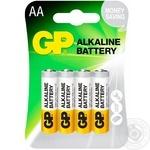 Батарейка GP Gray АА 4шт