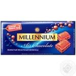 Шоколад Millennium Premium молочный пористый 90г