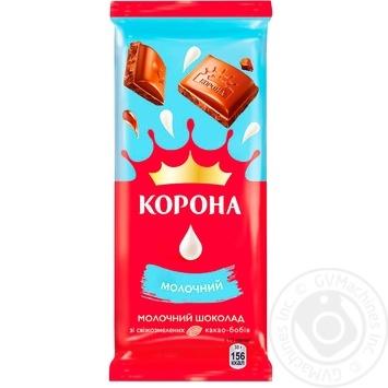 Шоколад молочный Корона 85г