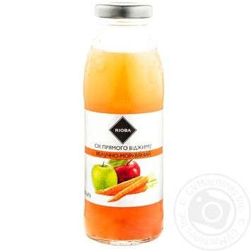 Rioba Juice direct extraction Apple-carrot 0,3l - buy, prices for Metro - photo 2