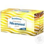 Маргарин Запорожский Молочный 70% 500г