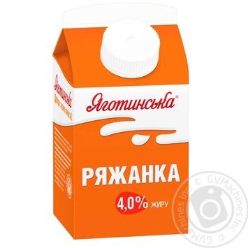 Ряженка Яготинская 4% 450г - купить, цены на Фуршет - фото 2