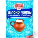 Молоко Вигода 2,6% пастеризоване 900г