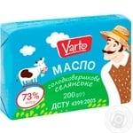 Масло Varto Селянське 73% солодковершкове 400г