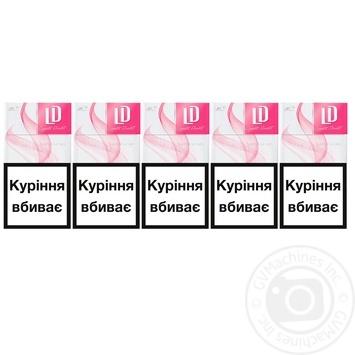 Цигарки LD Super Slims Pink - купити, ціни на Метро - фото 1