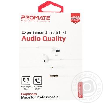 Наушники Promate Gearpod-IS2 - купить, цены на Метро - фото 1