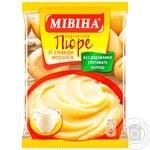 Пюре Мивина картофельное со вкусом сливок 120г