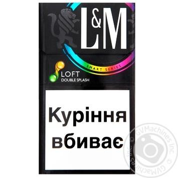Сигареты L&M Loft Double Splash - купить, цены на Таврия В - фото 1