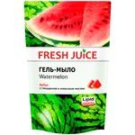 Мыло жидкое Fresh juice арбуз дой-пак 460мл