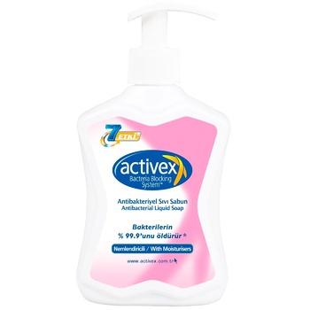 Мило рідке Activex антибактеріальне зволожуюче 300мл - купити, ціни на Метро - фото 1