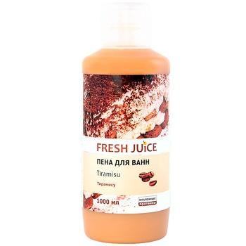 Пена для ванн Fresh juice тирамису 1л - купить, цены на Novus - фото 1
