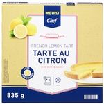 Десерт Metro Chef лимонный тарт 835г