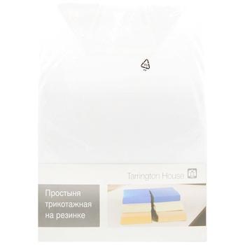 Tarrington House Sheet on an elastic band white 160Х200cm