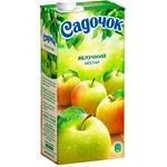 Нектар Садочок Яблочный неосветлённый Slim 0.95л - купить, цены на Фуршет - фото 1