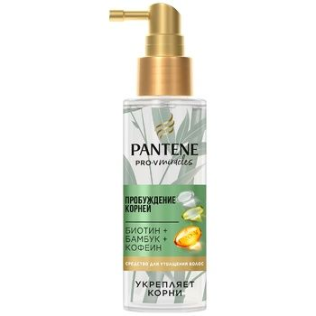 Pantene Pro-V Hair spray Awakening of roots with caffeine 100ml - buy, prices for Auchan - photo 1