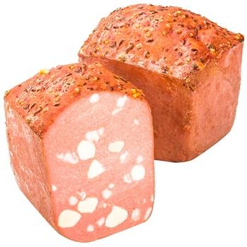 Хлеб мясной Ятрань Мозаичный вареный 2/с