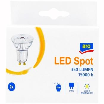 Aro 4W GU10 Lamp 2pcs