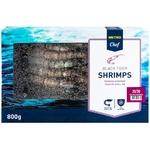 Metro Chef black tiger frozen shrimp 20/30 800g