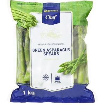 Стрижні спаржі Horeca Select зелені 1кг - купити, ціни на Метро - фото 1