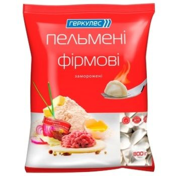 Hercules Firmoví Frozen Meat Dumplings 800g - buy, prices for Novus - image 1
