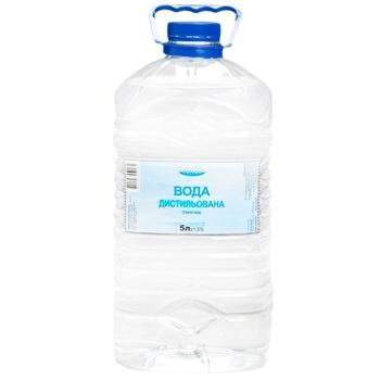 Вода Регион дистиллированная техническая 5л - купить, цены на МегаМаркет - фото 1