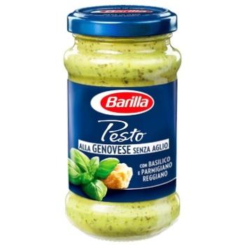 Соус Barilla Pesto Genovese без чеснока 190г