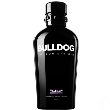 Bulldog London dry gin 40% 700ml - buy, prices for CityMarket - photo 1