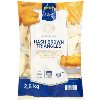 Metro Chef Potato triangles 2,5kg