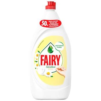 Средство Fairy для мытья посуды ромашка 1,35л