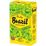 Кофе Paulig Brazil Original натуральный жареный молотый 500г