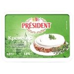 President Dill And Parsley Cream-Cheese 18% 180g