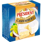 President Camembert Soft Cheese 60%
