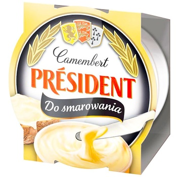 President Cream Cheese from Camembert 50% 120g - buy, prices for CityMarket - photo 1