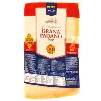 Сыр Metro Chef Грана Падано 32% 16 мес 1кг