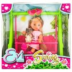 Simba Evi Love Toy Doll on Swing