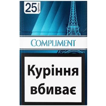 Сигареты Compliment Blue Demi Slim