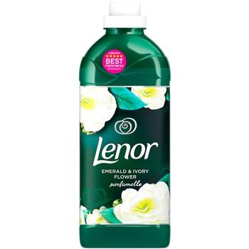 Кондиционер для белья Lenor Изумруд и цветок цвета айвори 1,42л