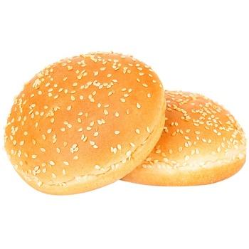 Булочка для гамбургера с кунжутом замороженная 2*80г