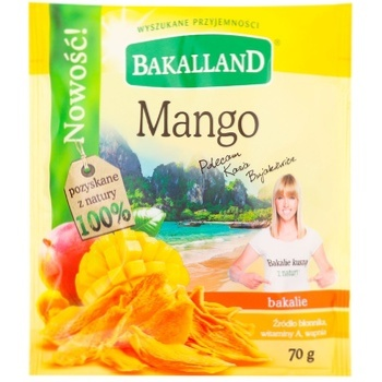 Bakalland dried mango 70g