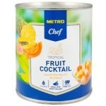 Metro chef tropical cocktail in syrup fruit 850ml