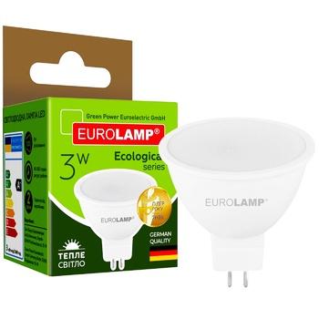 Лампа Eurolamp LED ЕКО D SMD MR16 3W 3000K GU5.3