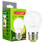 Лампа светодиодная Eurolamp Е27 5W 4000К