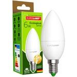 Лампа світлодіодна Eurolamp LED E14 6W 3000K