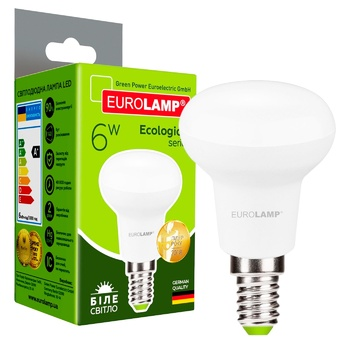 Светодиодная лампа Eurolamp LED R50 6W E14 4000K