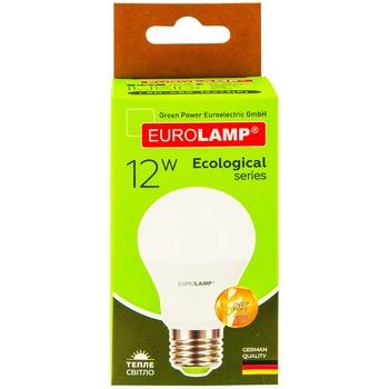 Лампа світлодіодна Eurolamp LED А60 12W E27 3000K - купити, ціни на Метро - фото 1