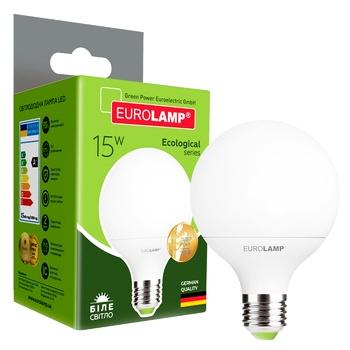 Світлодіодна лампа Eurolamp LED G95 15W E27 K4000 - купити, ціни на Метро - фото 1