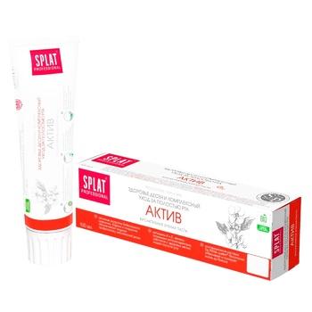 Зубная паста Splat Professional Актив 100мл - купить, цены на Таврия В - фото 1